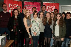New look Warrington Young Labour ready to connect with communities and charities